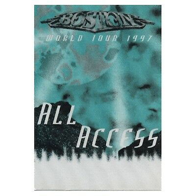 Boston authentic ALL ACCESS 1997 tour Backstage Pass