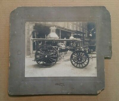 American Fire Engine Co.,Horse Drawn Steam Pumper,VINTAGE Photo,1892-1904