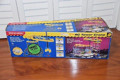 ROKENBOK System Wireless RC Tower Crane Set 04709 - COMPLETE!