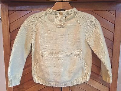 Vintage Handmade Child's Pullover Sweater Unisex Size 5T-6