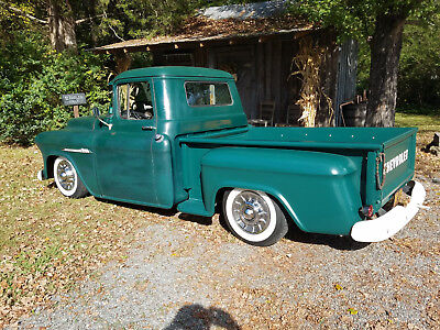 1955 Chevrolet Other Pickups  1955 CHEVROLET TRUCK 6 CYL 3 SPEED OD  HOTROD RAT ROD  RUNS DRIVES 2ND OWNER