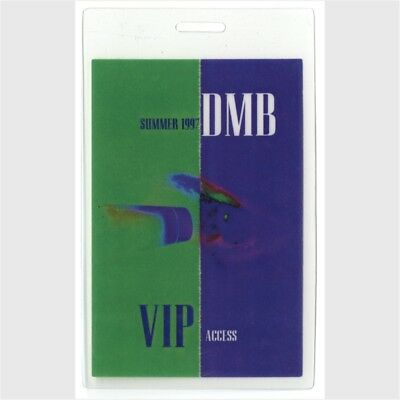 Dave Matthews Band authentic 1997 concert tour Laminated Backstage Pass VIP