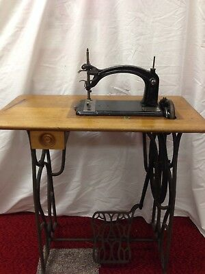 Rare American Buttonhole Overcast Sewing Machine