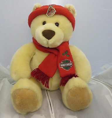 Harley  Davidson  teddy bear plush 14 inches