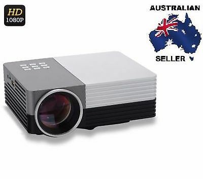 Mini LCD LED Projector - 80 Lumens, 1080p Support, HDMI AUS SELLER