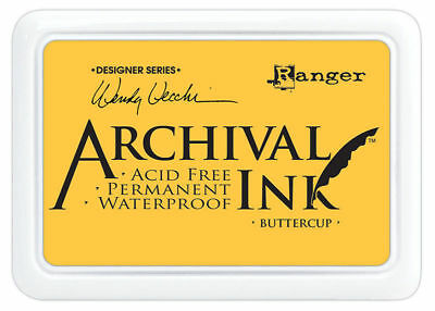 Ranger Archival Ink Stamp Pad - Buttercup