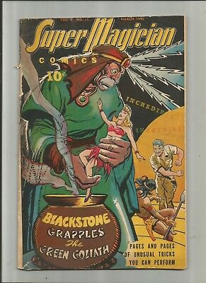 Super Magician #11 From 1945 2.5-3.5 Free Comb Shipping