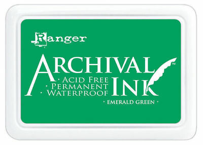 Emerald Green - Ranger Archival Ink Stamp Pad