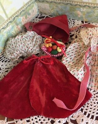 Vogue tagged vintage Ginny Red Riding Hood outfit