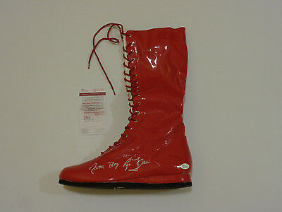 RIC FLAIR autographed signed right red Wrestling Boot Nature Boy JSA Witness