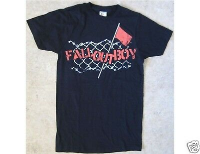 FALL OUT BOY Size Small Black T-Shirt