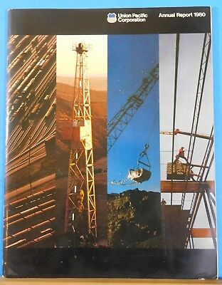 Union Pacific Corporation Annual Report 1980 Soft Cover