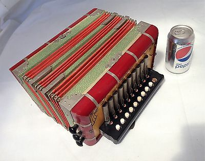 Vintage Rigoletto Concertina Made In Germany - U.S. Zone (NR)