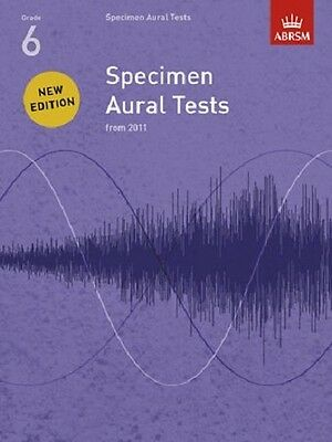 ABRSM Specimen Aural Tests Grades 1-3, 4-5, 6, 7, &  8 Available
