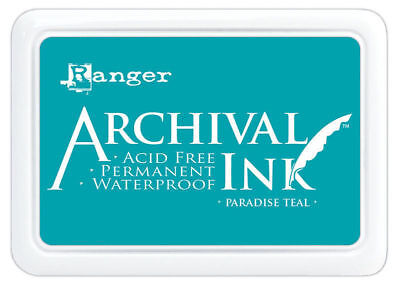 Paradise Teal - Ranger Archival Ink Stamp Pad