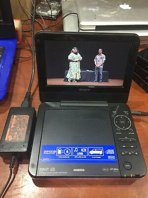 Sony Dvp-Fx720 Portable Cd/dvd Player Used Pink Colour