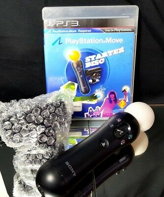 PlayStation 3 Move Motion Controller + New Eye Camera with Starter Disk - PS3