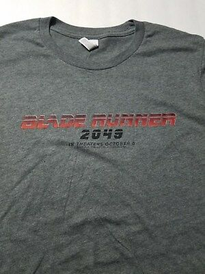 Blade Runner 2049 (2017) T-Shirt Movie Promotional SWAG Ford Gosling Size L