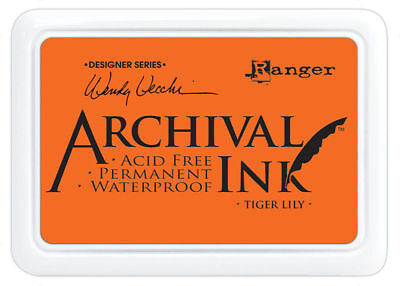 Tiger Lily - Ranger Archival Ink Stamp Pad
