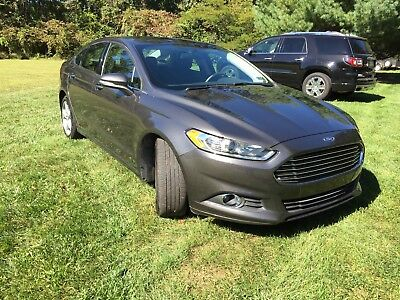 2015 Ford Fusion SE 2015 Ford Fusion All Wheel Drive