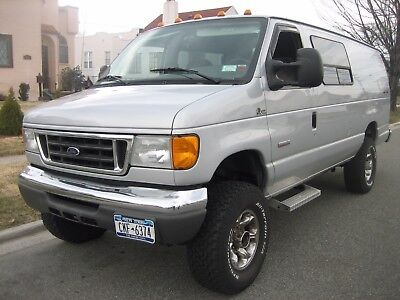 2006 Ford E-Series Van E350 Quigly 2006 Ford Van E350 Quigley 4x4 original owner 46k Dealer serviced Diesel extra's