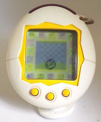 Tamagotchi 2004  White  Bandai Japan Tested and Working  Virtual Pet
