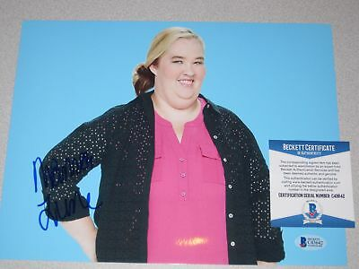 MAMA JUNE Honey Boo Boo SIGNED Autograph 8x10 PHOTO Beckett BAS COA 2