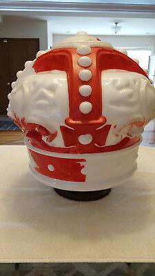 Vintage Red Crown Standard Oil Co. Gas Pump Globe