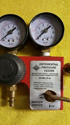 Ats 2E-M Aircraft Engine Differential Cylinder Compression Tester