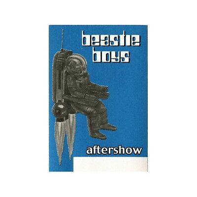 Beastie Boys authentic Aftershow 1998 tour Backstage Pass