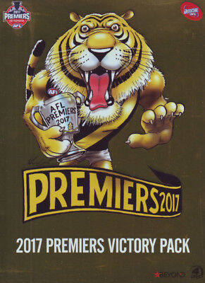 AFL Premiers 2017 Richmond Tigers Victory Pack - Sport DVD R4 New!