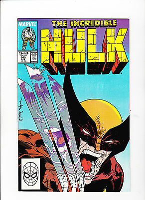 The Incredible Hulk #340 (Feb 1988, Marvel) 9.8 - First McFarlane - white pages