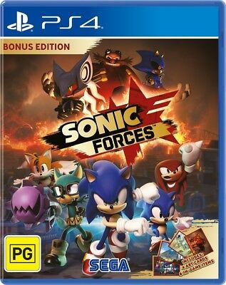 Sonic Forces Bonus Edition PS4 Playstation 4 (PAL) New!