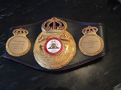 Ring Won Wba World Boxing Belt