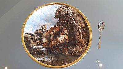 """LORD NELSON WARE 26cm CABINET PLATE """" THE VALLEY FARM """" JOHN CONSTABLE. NICE ONE"""