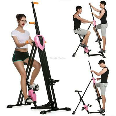 2 Colors Climber Exercise Machine Stepper Cardio Home Climbing Fitness Workout