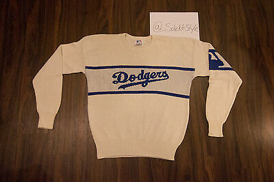 a778be1a2 Vintage Los Angeles Dodgers Cliff Engle Sweater MLB Baseball Throwback 90's  80's