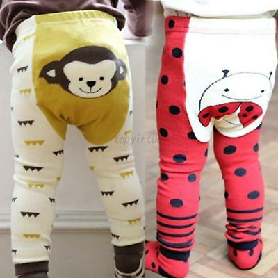 2PCS Baby Kids Boys Girls Legging Warm Socks Pants PP Pants + Socks Set 0-7Y