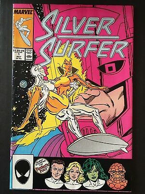 Marvel Silver Surfer Vol 2 Issue 1 Co-Starring The Fantastic Four & Galactus NM-