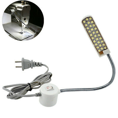 Sewing Machine Magnetic AC 110V-220V 30 LED Light Lamps Base Switch Sewing Sets