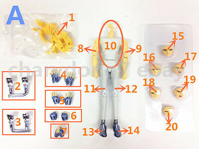 Replacement part for Great Toys Saint Seiya Myth Cloth Ex Hyoga Cygnus V3 Figure