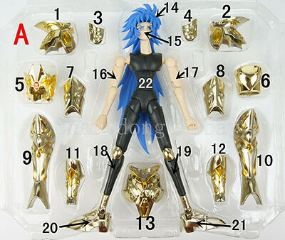GreatToys SaintSeiya Ex Myth Cloth Soul of Gold Sog God Gemini replacement part