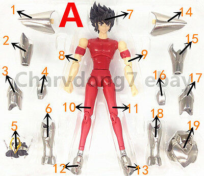 Replacement Part for Great Toys Saint Seiya Myth Cloth Pegasus V3 Figure