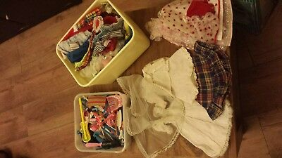 Sindy and Barbie clothes and accessories, 80's vintage