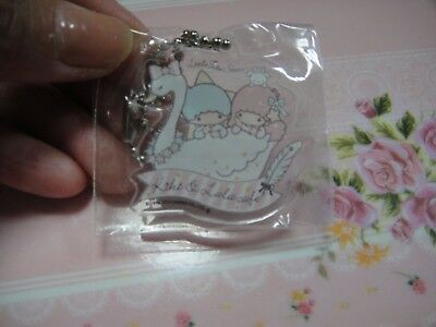 Sanrio Little Twin Stars too cute Clear Key Chain Strap from Japan