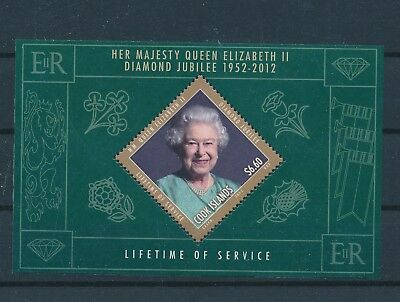 LH23455 Cook Islands queen Elizabeth II good sheet MNH