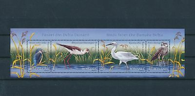 LH25332 Romania animals fauna flora birds good sheet MNH