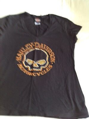 Ladies Harley Davidson T Shirt