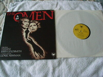 The Omen  – Jerry Goldsmith Soundtrack LP