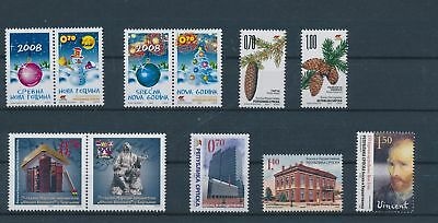 LH23676 Serbia nice lot of good stamps MNH